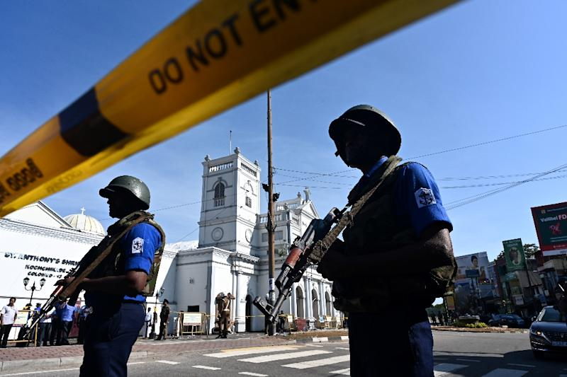 Sunday's attacks saw suicide bombers target churches during Easter services and high-end hotels in Colombo