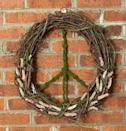 """<p><strong>RopeandWreath</strong></p><p>etsy.com</p><p><strong>$72.00</strong></p><p><a href=""""https://go.redirectingat.com?id=74968X1596630&url=https%3A%2F%2Fwww.etsy.com%2Flisting%2F1011519665%2Fpeace-sign-wreath-moss-and-grapevine&sref=https%3A%2F%2Fwww.housebeautiful.com%2Fdesign-inspiration%2Fg21287611%2Ffall-door-decorations%2F"""" rel=""""nofollow noopener"""" target=""""_blank"""" data-ylk=""""slk:BUY NOW"""" class=""""link rapid-noclick-resp"""">BUY NOW</a></p><p>Set peaceful intentions for your home and neighborhood with a peace sign-shaped wreath. </p>"""