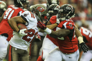 Doug Martin's season came to an end last season in Week 7 against the Falcons. (USA TODAY Sports)