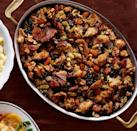 "<p>Wild rice and apricots give classic stuffing a sweet spin.</p><p><strong><a href=""https://www.countryliving.com/food-drinks/recipes/a36663/apricot-wild-rice-stuffing/"" rel=""nofollow noopener"" target=""_blank"" data-ylk=""slk:Get the recipe"" class=""link rapid-noclick-resp"">Get the recipe</a>.</strong></p>"