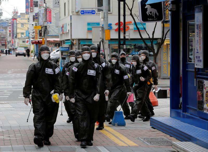 South Korea's emergency exercise in December facilitated coronavirus testing, containment