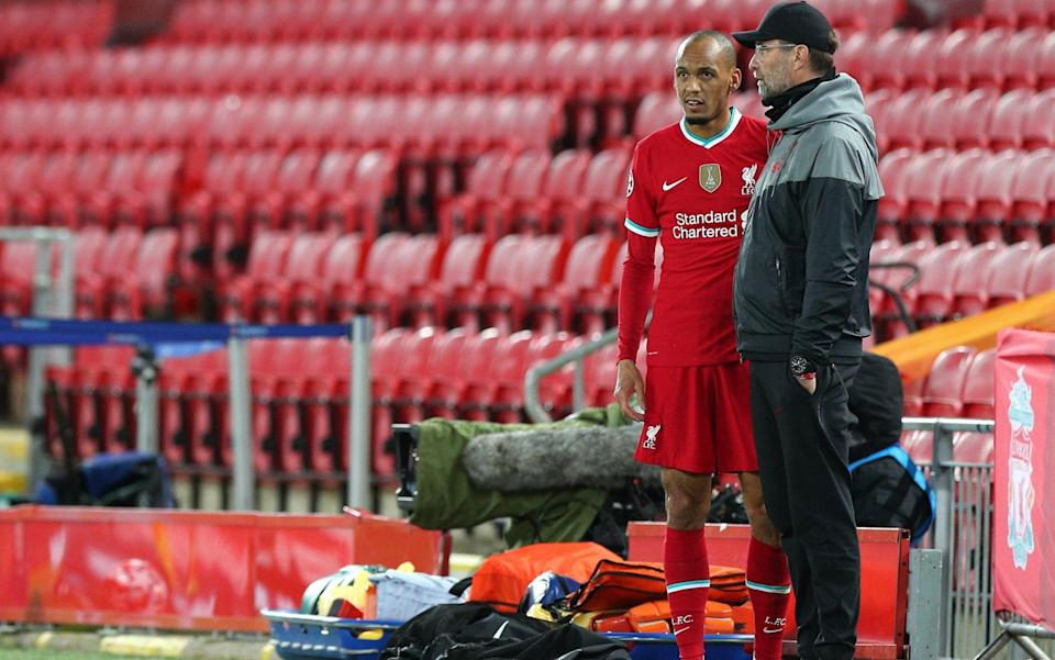Klopp has had to deal with a spate of injuries to his team - GETTY IMAGES