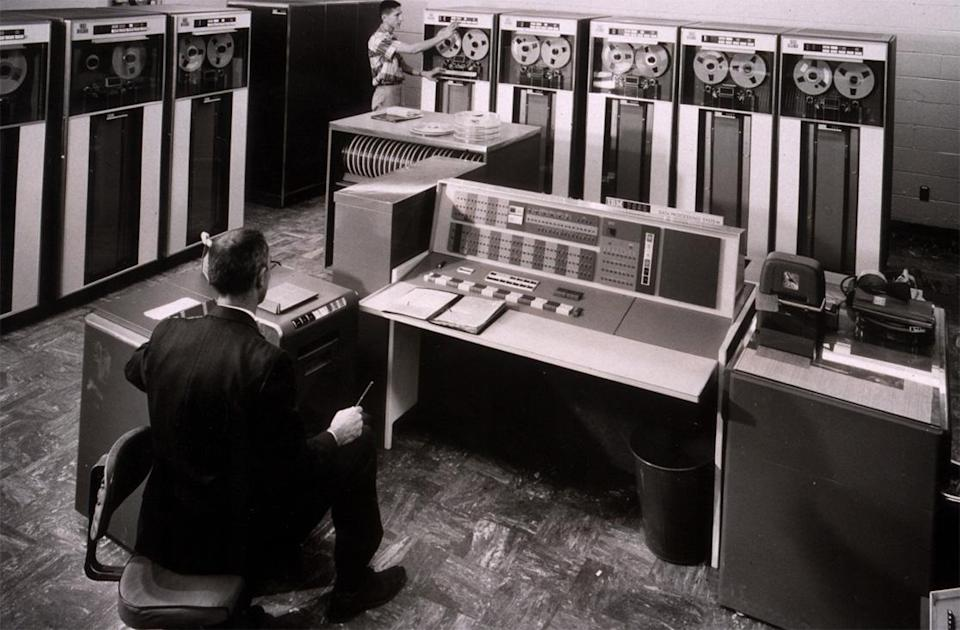 <b>5. IBM in 1967</b><br> <b>Value then</b>: $193 billion // <b>Adjusted to 2012 dollars</b>: U.S. $1.3 trillion <br><br> <b>HOW IT GOT SO BIG</b>: The company's early focus on research and development allowed it to bring new technologies to market before its competitors. An extensive and standards-setting sales force helped IBM build deep and lasting relationships with business and government. It developed SABRE, the first successful airline reservation system, for American Airlines, and partnered with NASA to deliver leading-edge computing power to the Mercury, Gemini, Saturn and Space Shuttle programs. This deep level of trust made IBM the gold standard for enterprises looking for both hardware and services support. <br><br> <b>WHAT HAPPENED</b>: IBM didn't invent the personal computer, but it lit the fire under the PC revolution with the first mass market, relatively affordable machine. After spinning off its Lexmark printer unit in 1991, IBM sold the PC business to China's Lenovo in 2005 amid intensifying commoditization and competition. It purchased PwC in 20012 and is now the world's dominant technology services company. <br><br> <b>VALUE TODAY</b>: $238.7 billion ( #32 on the Forbes Global 2000 list)<br><br>Image: Wikimedia Commons