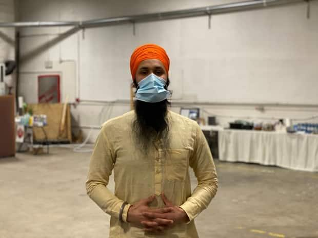 'Having a place where we can all get together and celebrate occasions like this it's obviously very important,' said Inderjeet Singh of the Yukon Sikh Society.