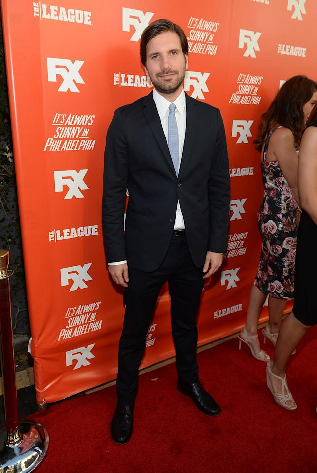 """HOLLYWOOD, CA - SEPTEMBER 03: Actor Jon Lajoie attends the premiere and launch party for FXX Network's """"It's Always Sunny In Philadelphia"""" and """"The League"""" at Lure on September 3, 2013 in Hollywood, California. (Photo by Michael Buckner/Getty Images)"""