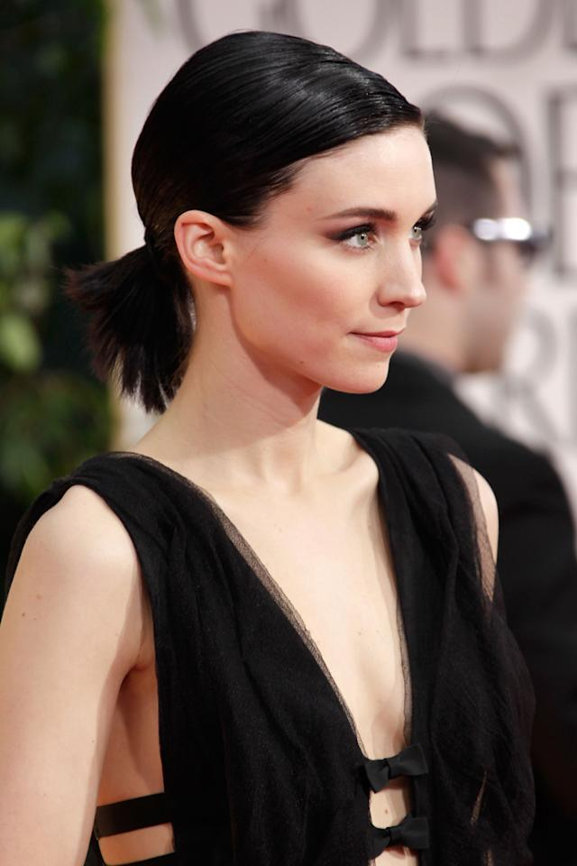 BEST: Rooney Mara arrives at the 69th Annual Golden Globe Awards in Beverly Hills, California, on January 15.