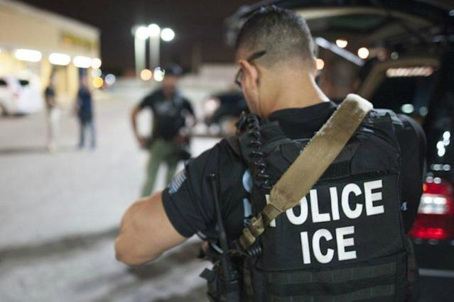 ICE arrests of undocumented immigrants are up nearly 40 percent this year. (Photo: U.S. Immigration and Customs Enforcement Agency)