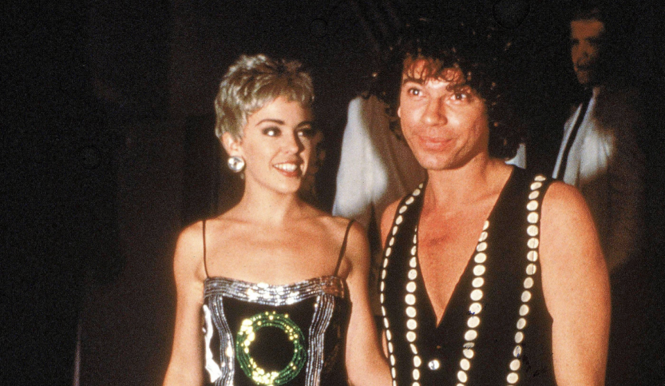 Kylie Minogue and Michael Hutchence (Getty Images)