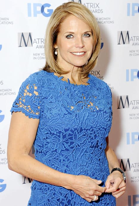 Katie Couric: I Was Bulimic in College