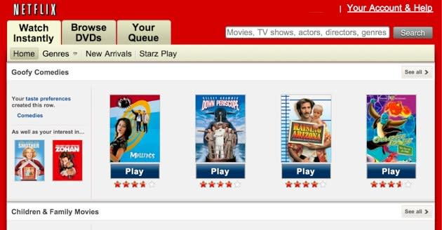 How to start streaming movies with Netflix