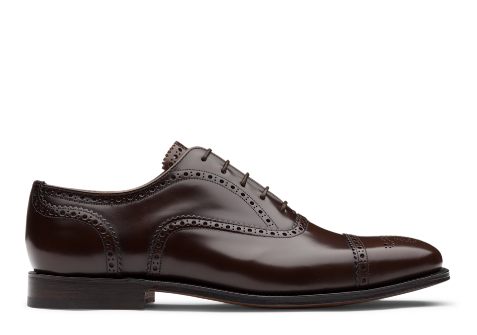 """<p>You can't get more quintessentially English than a pair of dapper brogues from Church's.</p><p>Intricate detailing and historical charm make the Fairstead a stellar choice for the more classic dads out there. He can match them with smart-casual outfits such as chinos and shirts, or dress down with relaxed denim. </p><p>£750, <a href=""""https://www.church-footwear.com/gb/en/men/style/brogues/products.bookbinder_fume_square_toe_oxford_brogue.EEB377_9LG_F0AXO_F_000000.html"""" rel=""""nofollow noopener"""" target=""""_blank"""" data-ylk=""""slk:Church's"""" class=""""link rapid-noclick-resp"""">Church's</a>.</p>"""