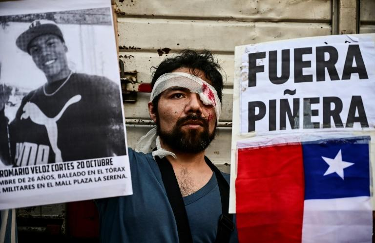 "UN investigators have determined that ""there are reasonable grounds to believe that... a high number of serious human rights violations have been committed"" during mass protests in Chile"
