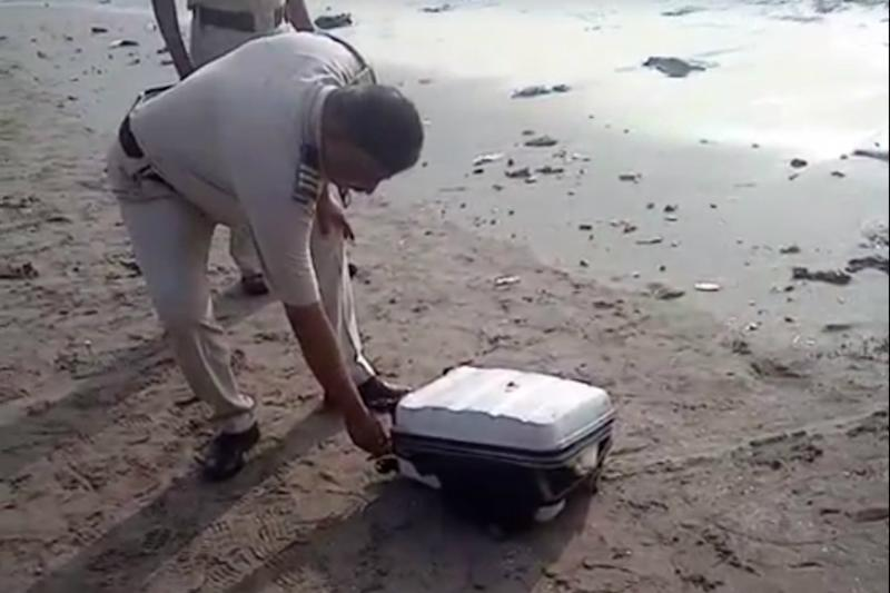 Suitcase Stuffed With Chopped Body Parts Washes Ashore on Mumbai beach