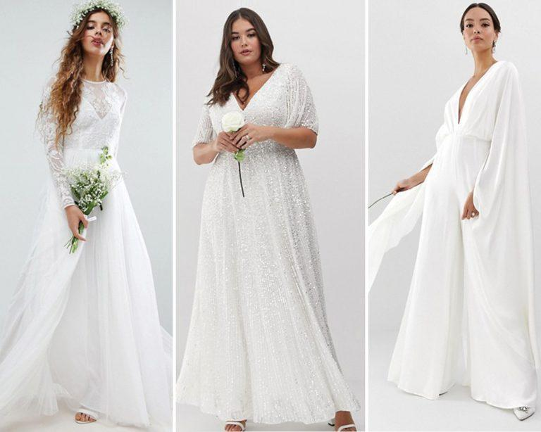 9d1393ddf414 ASOS Just Dropped Its New Bridal Collection All for Under $300