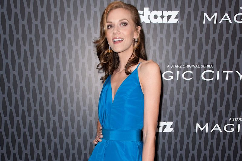 Speaking out: US actress Hilarie Burton: D Dipasupil/Getty