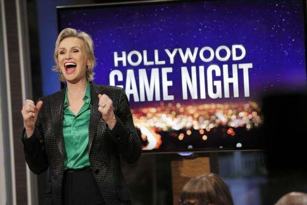 Jane Lynch on NBC's 'Hollywood Game Night' -- Getty Images