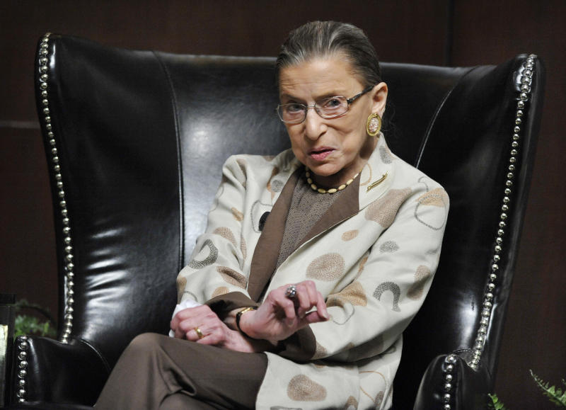 Ginsburg: Roe gave abortion opponents a target