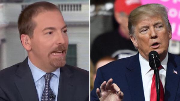 Trump Calls NBC's Chuck Todd A 'Sleeping Son Of A Bitch' At Rally
