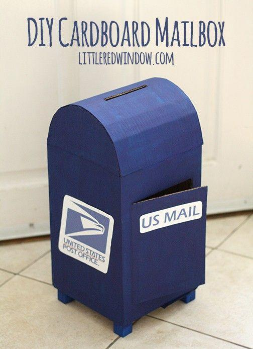 "<p>It doesn't get much more literal than this mailbox! All you really need are cardboard boxes and blue paint to create this exact replica.</p><p><strong>Get the tutorial at <a href=""https://littleredwindow.com/diy-cardboard-mailbox"" rel=""nofollow noopener"" target=""_blank"" data-ylk=""slk:Little Red Window"" class=""link rapid-noclick-resp"">Little Red Window</a>.</strong></p><p><strong><a class=""link rapid-noclick-resp"" href=""https://www.amazon.com/Cobiz-Premium-Sticks-Christmas-Decoration/dp/B0721PTD5B/ref=sxin_3_osp43-f0ef78fd_cov?tag=syn-yahoo-20&ascsubtag=%5Bartid%7C10050.g.25844424%5Bsrc%7Cyahoo-us"" rel=""nofollow noopener"" target=""_blank"" data-ylk=""slk:SHOP HOT GLUE GUNS"">SHOP HOT GLUE GUNS</a><br></strong></p>"