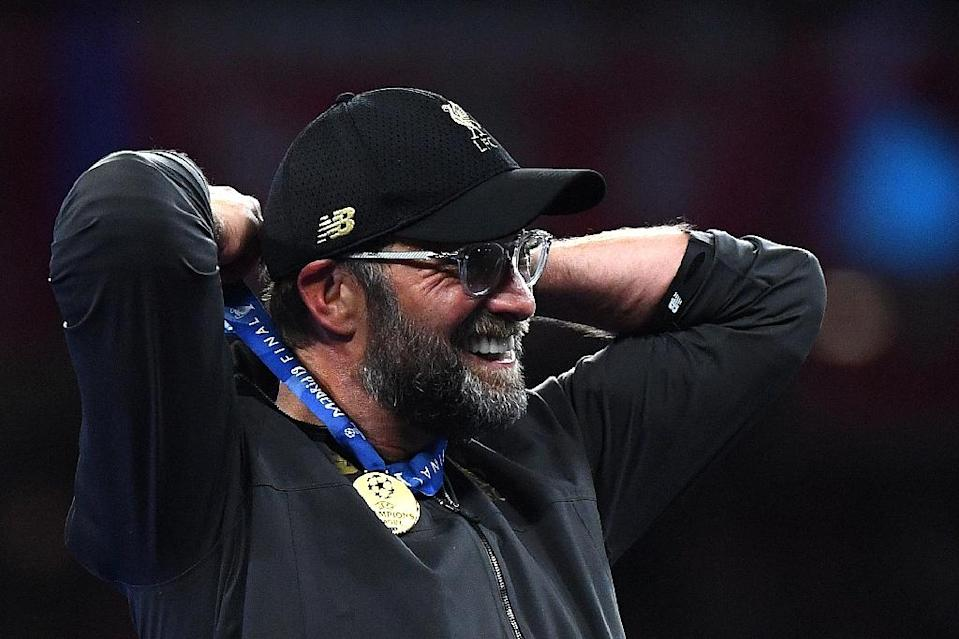 Jurgen Klopp says there is plenty more to come from Liverpool after their Champions League triumph (AFP Photo/GABRIEL BOUYS )