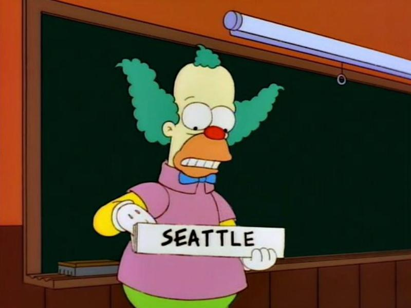 Marge vs. The Monorail became a reality for citizens of Seattle in 2002 (Photo: Netflix)