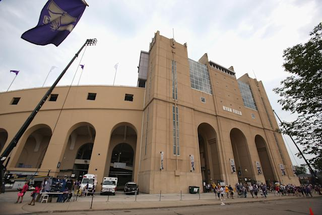 EVANSTON, IL - SEPTEMBER 07: A general view of Ryan Field before the Northwestern Wildcats take on the Syracuse Orange on September 7, 2013 in Evanston, Illinois. (Photo by Jonathan Daniel/Getty Images)