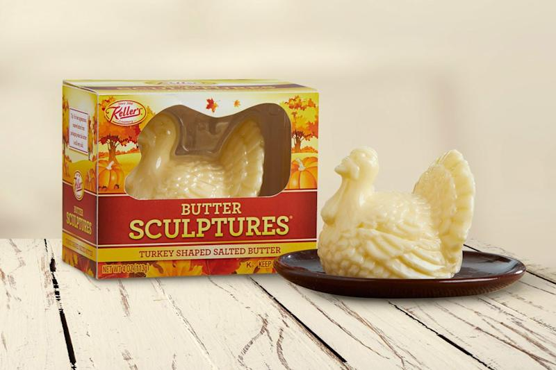 Turkey-Shaped Butter Is Here to Complete Your Thanksgiving Spread