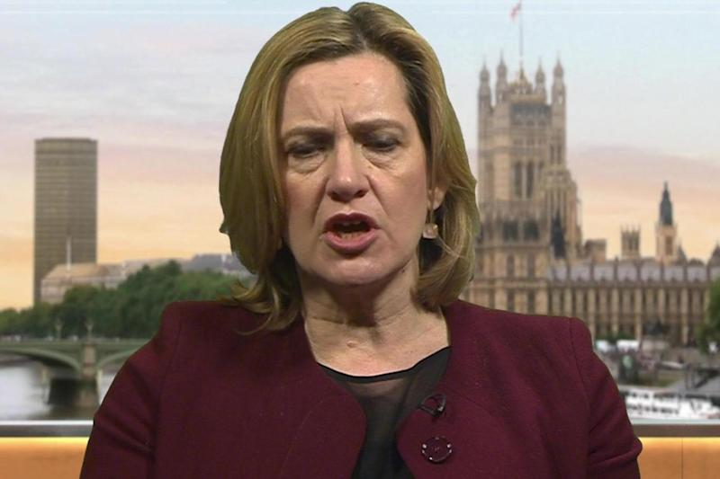 Amber Rudd declined to say whether she regarded Russia as responsible for the Salisbury attack
