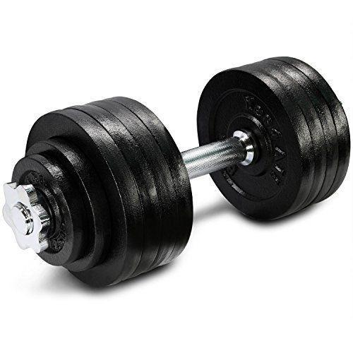 """<p><strong>Yes4All</strong></p><p>amazon.com</p><p><strong>$173.98</strong></p><p><a href=""""https://www.amazon.com/dp/B009GC76QO?tag=syn-yahoo-20&ascsubtag=%5Bartid%7C2140.g.29367992%5Bsrc%7Cyahoo-us"""" rel=""""nofollow noopener"""" target=""""_blank"""" data-ylk=""""slk:Shop Now"""" class=""""link rapid-noclick-resp"""">Shop Now</a></p><p>These cast-iron dumbbells start at 40 pounds and go all the way up to a whopping 200 pounds (great for heavy lifters!). If you're used to lifting with weight plates, you'll love this set. You can also purchase a connector with your dumbbells that can easily turn them into barbells for even more variety. </p><p><strong>Reviewer Rave:</strong> """"I bought these while on quarantine to try and keep up with the moves I learned in CrossFit. These dumbbells are perfect. I love that the weights are adjustable and fit under my coffee table. The handle is a little rough but works out if you are one of those people that sweat a lot. It will keep it from slipping out of your grip. Money well spent."""" — Kimberlee, <a href=""""https://www.amazon.com/gp/customer-reviews/R2JZSI7H4QF0YB/ref=cm_cr_getr_d_rvw_ttl?ie=UTF8&ASIN=B009GC76QO"""" rel=""""nofollow noopener"""" target=""""_blank"""" data-ylk=""""slk:amazon.com"""" class=""""link rapid-noclick-resp"""">amazon.com</a></p>"""