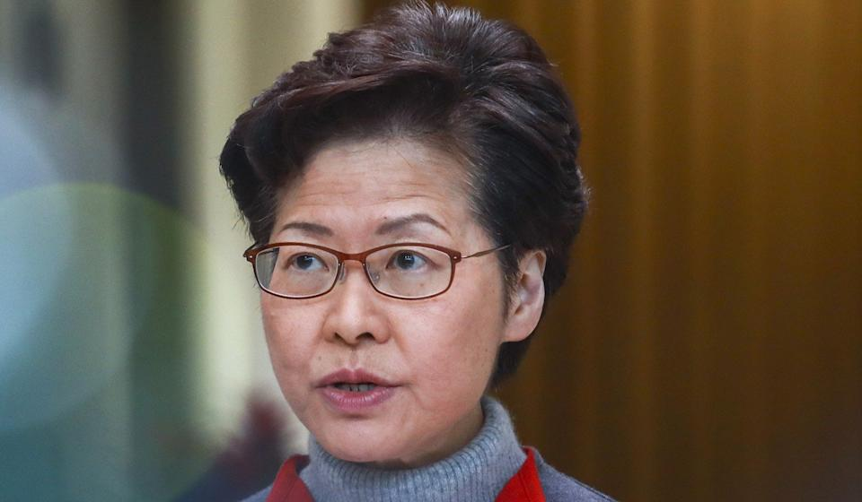 Hong Kong Chief Executive Carrie Lam on Tuesday announced a raft of measures for the city's elderly and low-income people. Photo: May Tse