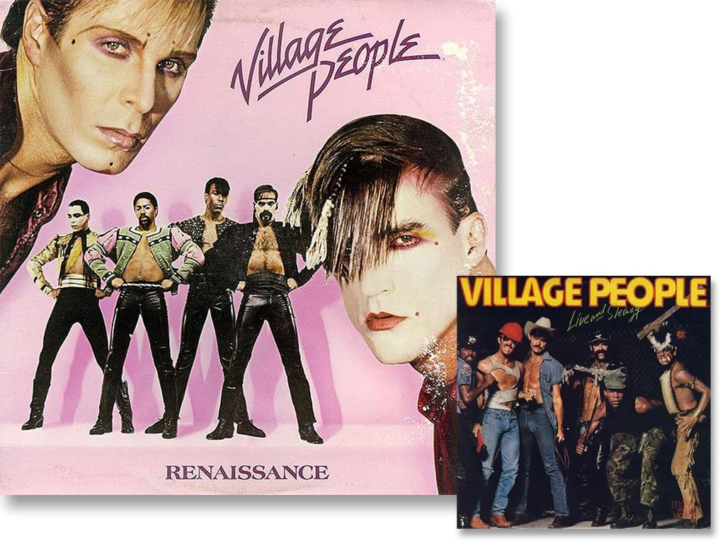 Apparently, taking on characters including a police officer, Indian chief, cowboy and construction worker weren't satisfying enough for the all male, New York disco group. So for their 1981 set, Renaissance, the guys showed their true love for the arts in their album cover. They dressed like contemporary matadors – skin tight leather pants, cumerbunds, shiny jackets, makeup and, of course, no shirts.