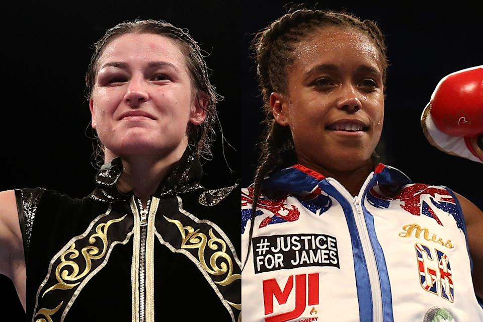 <p>Katie Taylor is the undisputed women's lightweight champion of the world</p> (Getty Images/Getty Images)