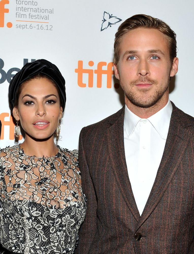 Eva Mendes & Ryan Gosling | Sonia Recchia/Getty Images