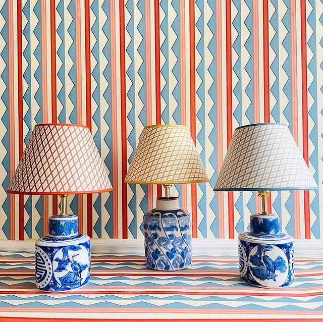 """<p>With a bio that reads """"pattern everywhere,"""" you already know you can expect some seriously gorgeous designs. <a href=""""https://www.housebeautiful.com/design-inspiration/house-tours/a34761541/chauncey-boothby-maine-home-tour/"""" rel=""""nofollow noopener"""" target=""""_blank"""" data-ylk=""""slk:Chauncey Boothby"""" class=""""link rapid-noclick-resp"""">Chauncey Boothby</a> happens to think so too. """"I love everything that Ottoline creates. She has such a whimsical palette and I immediately fell in love when I came across her instagram account. I created a whole room out of her 'Sporty Stripes' fabric and I just created a custom stripe with her for a little boys room I'm working on,"""" she says.<br><br><em><a href=""""https://www.instagram.com/chaunceyboothbyinteriors/?hl=en"""" rel=""""nofollow noopener"""" target=""""_blank"""" data-ylk=""""slk:See Boothby's own feed here"""" class=""""link rapid-noclick-resp"""">See Boothby's own feed here</a></em> </p><p><a href=""""https://www.instagram.com/p/CLj_9r2gAHU/"""" rel=""""nofollow noopener"""" target=""""_blank"""" data-ylk=""""slk:See the original post on Instagram"""" class=""""link rapid-noclick-resp"""">See the original post on Instagram</a></p>"""