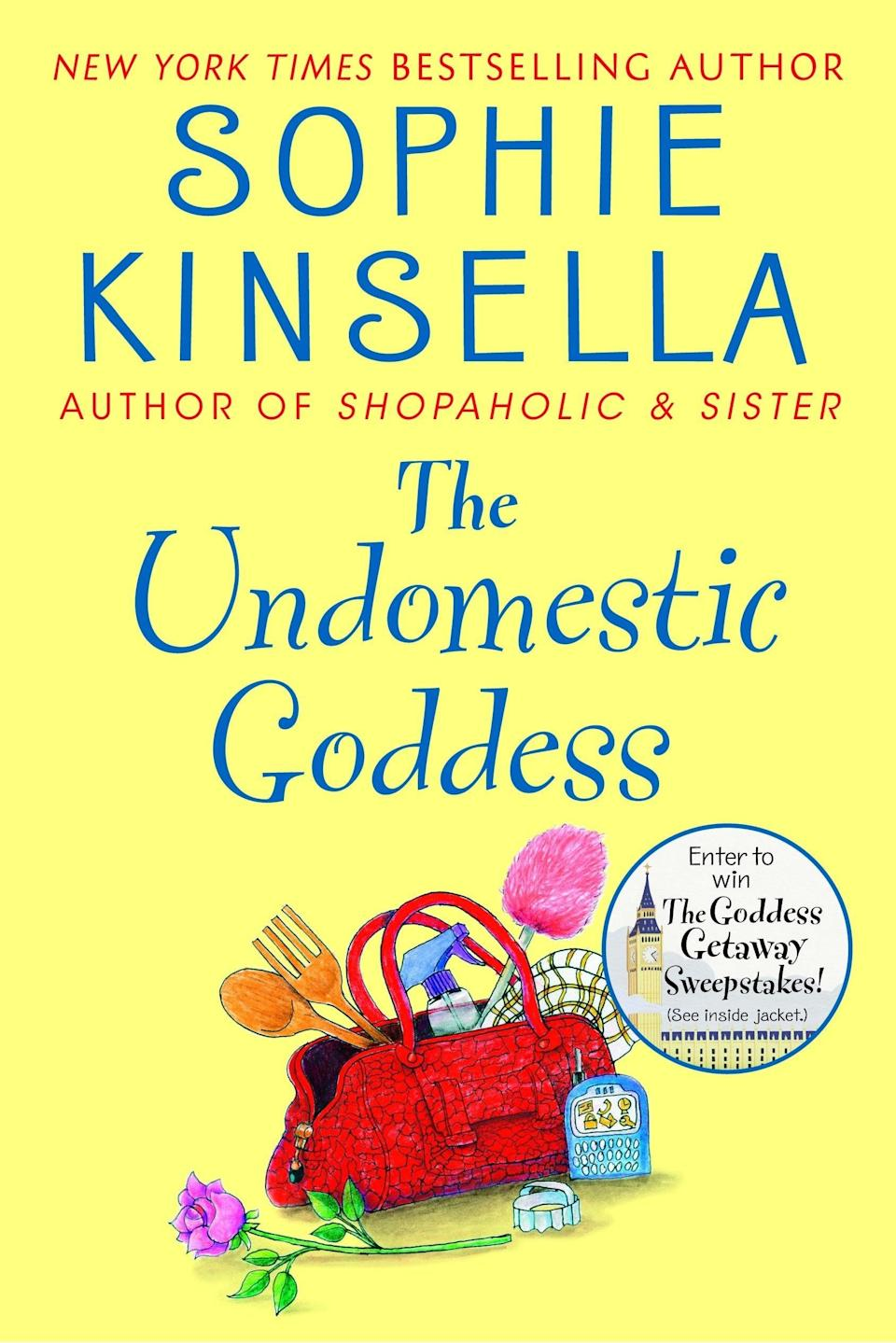 <p>Sophie Kinsella can do no wrong when it comes to writing romance with hilariously outlandish scenarios. If you love <strong>Confessions of a Shopaholic</strong> (the book series or the 2009 movie based on the first book), she has plenty of standalone rom-com books that would all make highly entertaining movies. <span><strong>The Undomestic Goddess</strong></span> ($8) is an oldie but goodie, and it stands out to me specifically because it's set in the English countryside, where Samantha accidentally finds herself after running away from London and the prestigious law firm where she works. At a beautiful country estate, she's mistaken for the new housekeeper and decides to go with it, never mind the fact that she has zero domestic skills.</p> <p>This book has it all: some truly slapstick moments, a sweet romance with the hot gardener, and even a tiny bit of corporate scandal.</p>