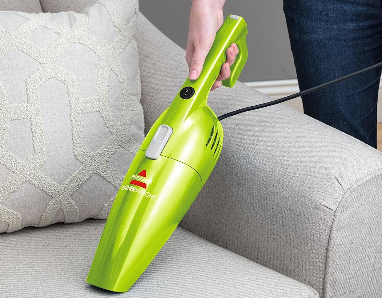 Need to get up close and personal with some household nasties? This baby transforms into a handheld! (Photo: Amazon)