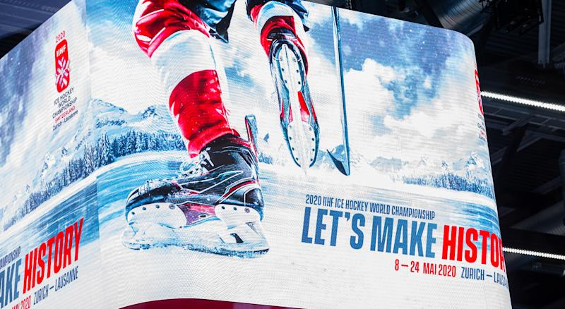 The 2020 IIHF Men's Ice Hockey World Championship has been cancelled due to the coronavirus outbreak. (Getty Images)