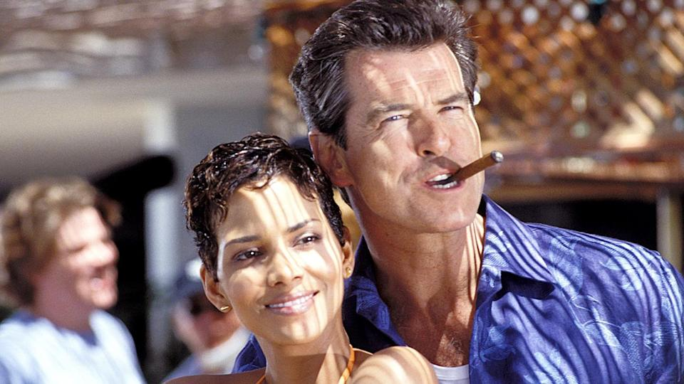 <p> Perhaps the most interesting bit of trivia about Die Another Day - the weird, Pierce Brosnan-lead, disaster movie (in both sense of the word) - is that this is the first time you see Bond climax, after 40 years of copulation. So momentous was the event deemed (well, it must've been quite a relief for the double-oh) that it's actually sampled in Madonna's terrible title track for the movie. The problem with Die Another Day, in a Bond movie sense, is that it's all gadgetry and excess, but without any kind of interesting narrative to hold it together. Brosnan is too old and leathery by this point too, and the villains of the piece - a man with diamonds embedded in his face, and a North Korean General, who has inexplicably turned himself into Toby Stephens - are laughable. The most face-in-hands scene in this film, however, is where Bond rides a tidal wave through the Icelandic sea on the remains of a landspeeder, rigged up like a windsurfing board. Presumably jumping over every shark in the Bond universe in the process. </p> <p> <strong>Bond:</strong> Pierce Brosnan<br> <strong>Theme tune:</strong> Die Another Day by Madonna </p>
