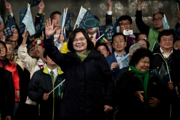Taiwanese President Tsai Ing-wen's re-election was a forceful rebuke of China's push to heap economic and diplomatic pressure on the self-ruled island (AFP Photo/PHILIPPE LOPEZ)