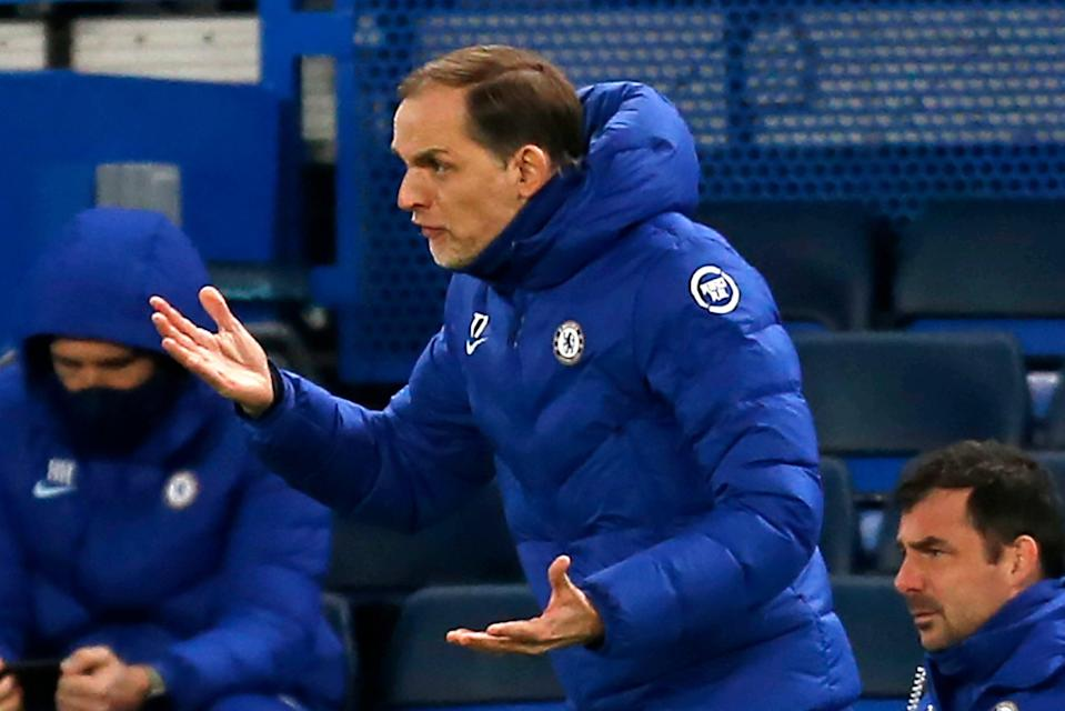 <p>Thomas Tuchel arrived at Chelsea on an 18-month contract in January</p> (IKIMAGES/AFP via Getty Images)