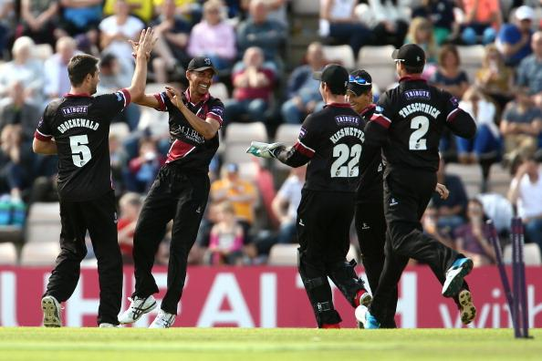 Hampshire v Somerset - Natwest T20 Blast : News Photo