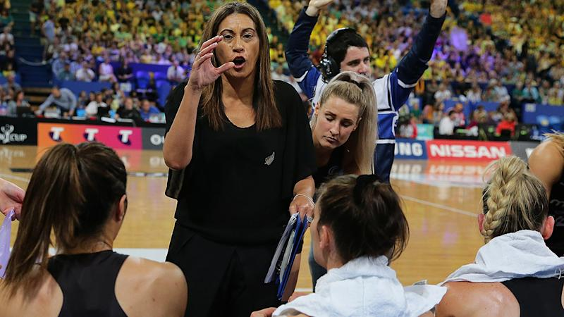 Noeline Taurua, pictured here during the final game of the Constellation Cup.