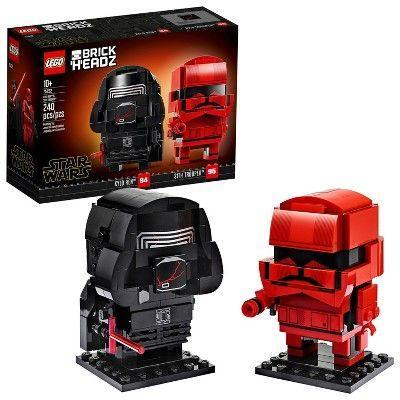 "<p><strong>LEGO</strong></p><p>target.com</p><p><strong>$19.99</strong></p><p><a href=""https://www.target.com/p/lego-star-wars-kylo-ren-38-sith-trooper-75232-target-exclusive/-/A-76487834"" rel=""nofollow noopener"" target=""_blank"" data-ylk=""slk:Shop Now"" class=""link rapid-noclick-resp"">Shop Now</a></p><p>If you know a collector of the BrickHeadz LEGO series, this 240-piece set is the perfect weekend activity. It lets kids build a 2"" tall Kylo Ren and Sith Trooper to display on a shelf. <em>Ages 10+</em></p>"