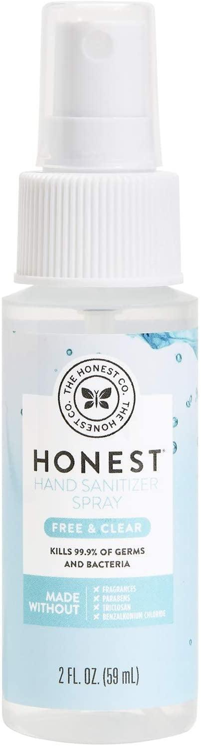<p><span>The Honest Company Hand Sanitizer Spray</span> ($3) is perfect for cleaning your hands before and after training and when you're on the go.</p>