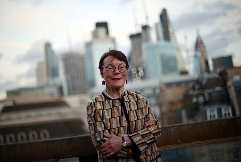 Catherine McGuinness, chairman of the Policy and Resources Committee of the City of London Corporation. Photo: Hannah McKay/Reuters
