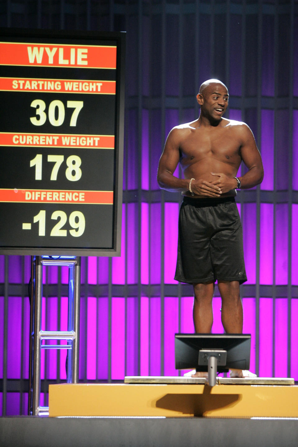 """""""The Biggest Loser"""" 2006. Image via Getty Images."""