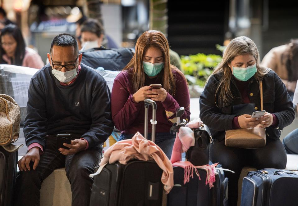 The CDC confirmed its first stateside case of human-to-human transmission of the coronavirus on Thursday, which involves a husband and wife in Illinois. (Photo by MARK RALSTON/AFP via Getty Images)