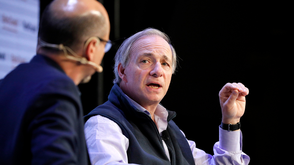 Bridgewater Associates Founder & Co-Chairman/Co-CIO Ray Dalio speak onstage during TechCrunch Disrupt San Francisco 2019 at Moscone Convention Center on October 02, 2019 in San Francisco, California.