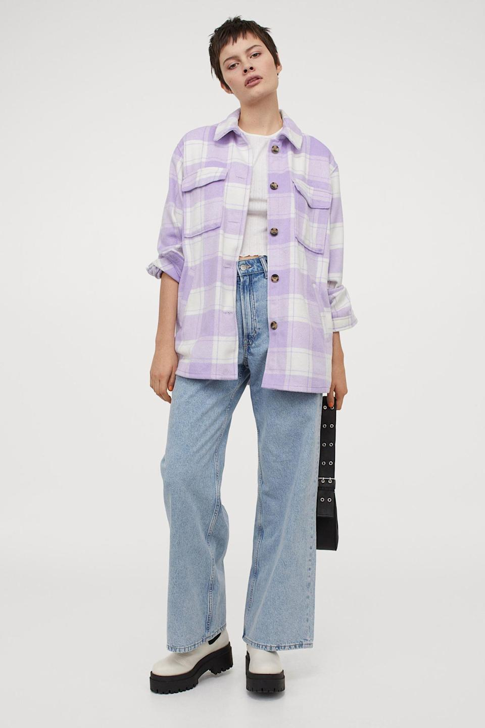 <p>This <span>H&amp;M Oversized Shirt Jacket</span> ($40) feels like a new season.</p>