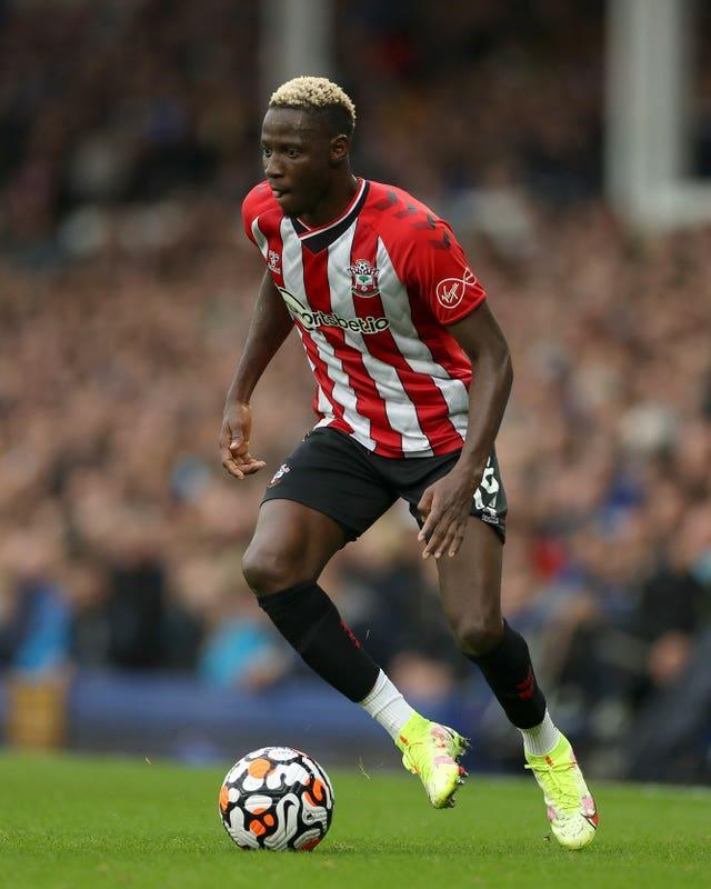 Southampton's Moussa Djenepo was guilty of a glaring miss at Newcastle